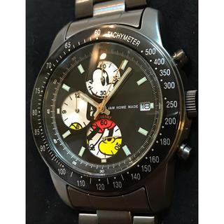 ジャムホームメイドアンドレディメイド(JAM HOME MADE & ready made)のJAM HOME MADE MIKYE MOUSE クロノグラフ 腕時計(腕時計(アナログ))