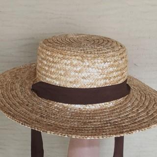 フリークスストア(FREAK'S STORE)のフリークストア 2wayカンカン帽(麦わら帽子/ストローハット)