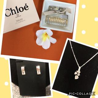 クロエ(Chloe)のクロエ 香水♡4℃ ピアス&ペンダント♡デートセット④(香水(女性用))