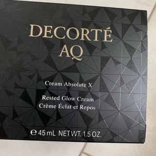 コスメデコルテ(COSME DECORTE)のコスメデコルテ AQ クリーム アブソリュート X 新品N(フェイスクリーム)