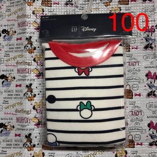 ベビーギャップ(babyGAP)の新品☆ミニーちゃん長袖パジャマ 100(パジャマ)