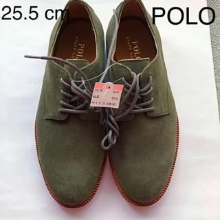 ポロラルフローレン(POLO RALPH LAUREN)の384 新品 ポロ·ラルフローレン 25.5 cm(80)本革(ブーツ)