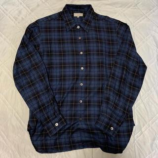 マーガレットハウエル(MARGARET HOWELL)の15AW MARGARET HOWELL チェックシャツ M(シャツ)
