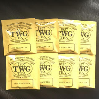 TWG 1837 BLACK TEA 8袋
