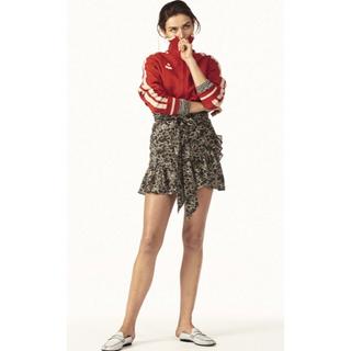 イザベルマラン(Isabel Marant)のSUMMER期間限定キャンペーン 美品イザベルマランエトワール花柄ラップスカート(ミニスカート)