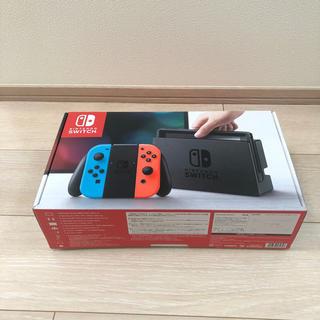 ニンテンドースイッチ(Nintendo Switch)の86様専用★【新品 未使用】任天堂 switch ネオンカラー(携帯用ゲーム本体)