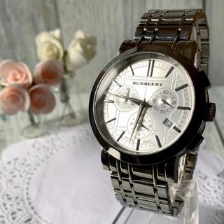 BURBERRY - 【動作OK】BURBERRY バーバリー BU1360 腕時計 クロノグラフ