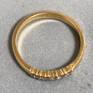 K18 ゴールド リング(リング(指輪))