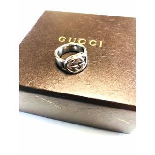 グッチ(Gucci)のGUCCI/グッチ 指輪/リング インターロッキング SV925 美品 正規品(リング(指輪))