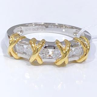 K18 WG ダイヤモンド リング 0.29ct(リング(指輪))
