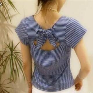 デイシー(deicy)のdeicy バックリボンTシャツ(Tシャツ(半袖/袖なし))