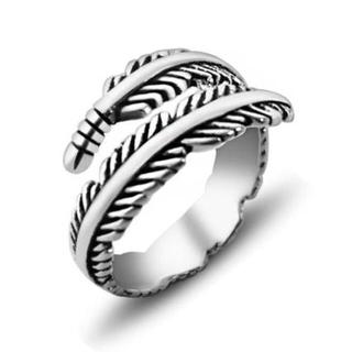 リーフ柄シルバーリング(リング(指輪))