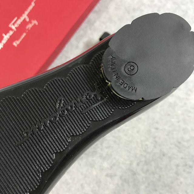 Salvatore Ferragamo(サルヴァトーレフェラガモ)のSALVATORE FERRAGAMO パンプス ブラック 23cm レディースの靴/シューズ(ハイヒール/パンプス)の商品写真