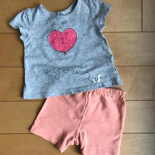ベビーギャップ(babyGAP)のGap TシャツとKP 短パンのセット(その他)