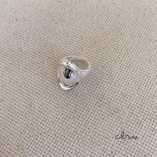 アメリヴィンテージ(Ameri VINTAGE)の再入荷 silver925 サークル シィク シルバーリング (リング(指輪))