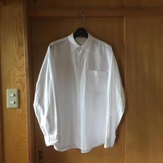 COMOLI - 16aw comoli サイズ1 コモリシャツ ホワイト white