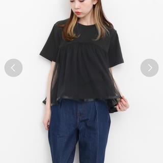 ケービーエフ(KBF)のm.様専用☆チュール付きTシャツ(Tシャツ(半袖/袖なし))