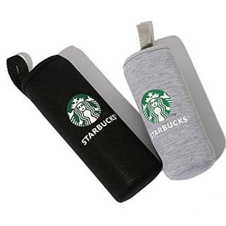 スターバックスコーヒー(Starbucks Coffee)のスターバックス ボトルカバー グレー&ブラック(タンブラー)