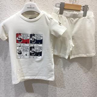 モンクレール(MONCLER)のモンクレールキッズ  セットアップ  2A(Tシャツ/カットソー)