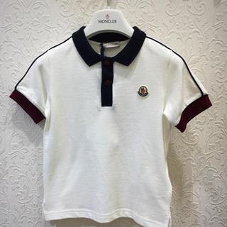 モンクレール(MONCLER)のモンクレールキッズ 鹿の子ポロシャツ  4A(Tシャツ/カットソー)