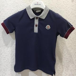 モンクレール(MONCLER)のモンクレール キッズ  鹿の子ポロシャツ 4A(コート)