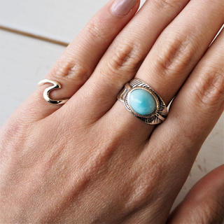 Larimar Heather Ring #2(リング(指輪))