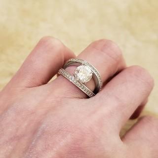 スワロフスキー(SWAROVSKI)のスワロフスキーのリング(リング(指輪))