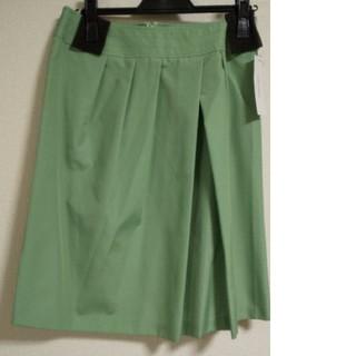 ベルメゾン(ベルメゾン)のベルメゾン スタイルノート グリーン スカート(ひざ丈スカート)