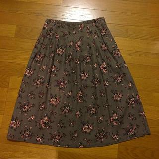 ニコアンド(niko and...)のニコアンド 秋色ギャザースカート ※リメイク有り(ロングスカート)
