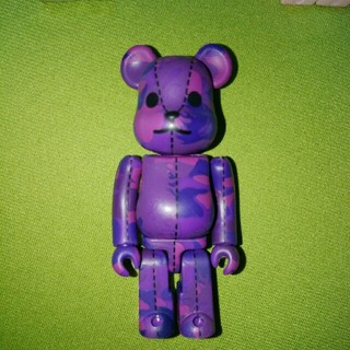 MEDICOM TOY - A BATHING APE × BE@RBRICK 紫