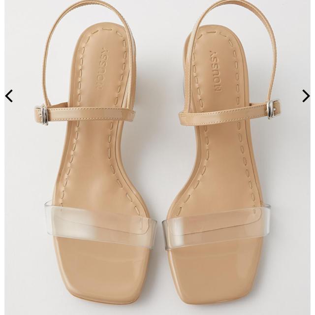 moussy(マウジー)のMOUSSY☆ JUICY COLOR サンダル レディースの靴/シューズ(サンダル)の商品写真