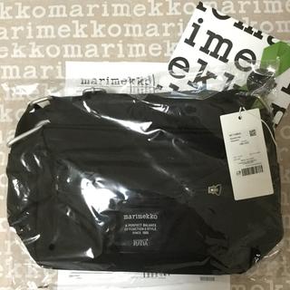 マリメッコ(marimekko)のマリメッコ ショルダーバッグ ブラック MY THINGS (ショルダーバッグ)