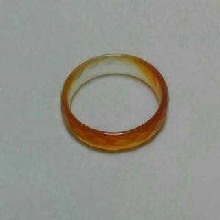天然石リング❤カ-ネリアン❤16号❤本物❤(リング(指輪))