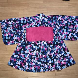 エムピーエス(MPS)のMPS 浴衣風 ワンピース L(130〜140)(甚平/浴衣)