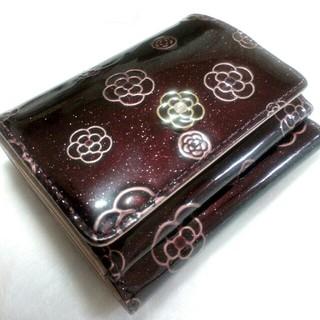 CLATHAS - クレイサス アルゴ BOX三つ折り財布 ワイン色