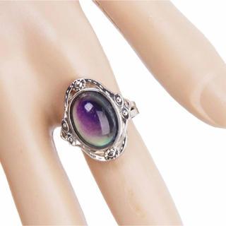 たくさんの色が楽しめる!大きいムードリング☆オーラリング☆(リング(指輪))