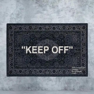 """オフホワイト(OFF-WHITE)のイケア オフホワイト ラグ  KEEP OFF"""" (ラグ)"""
