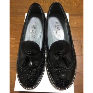 ハルタ(HARUTA)のHARUTA タッセル付きオペラシューズ 23.5cm(ローファー/革靴)