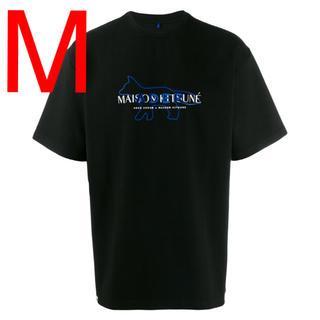MAISON KITSUNE' - 【新品】Mサイズ メゾンキツネ Adererror  ロゴ Tシャツ