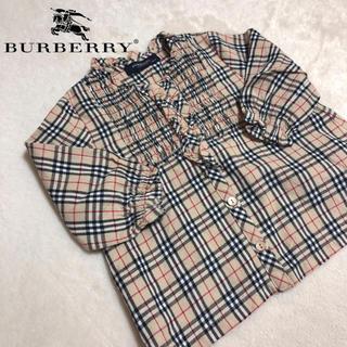 BURBERRY - BURBERRY🧸ブラウス