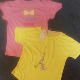 しまむら - 新品未使用★女の子130Tシャツ二枚セット