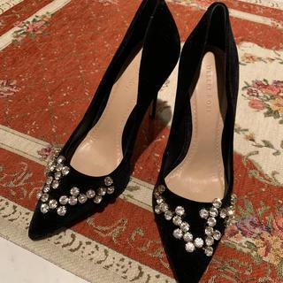 グレースコンチネンタル(GRACE CONTINENTAL)のDESERT ROSE デザートローズ シューズ 靴 未使用(ハイヒール/パンプス)