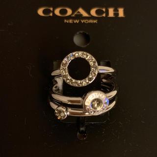コーチ(COACH)の値下げして再出品!コーチシルバー色リング(リング(指輪))