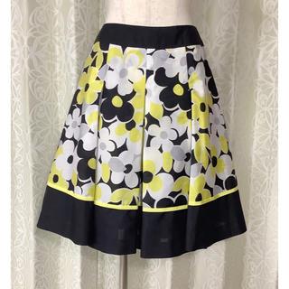 エムズグレイシー(M'S GRACY)のエムズグレイシー(M'S GRACY) 花柄スカート(ひざ丈スカート)