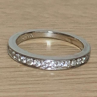 ティファニー(Tiffany & Co.)の正規品 ティファニー ダイヤモンド リング ウエディング バンド(リング(指輪))