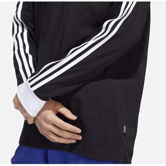 adidas(アディダス)のアディダス オリジナルス カリフォルニア 長袖 Tシャツ 黒 L 新品未使用 メンズのトップス(Tシャツ/カットソー(七分/長袖))の商品写真