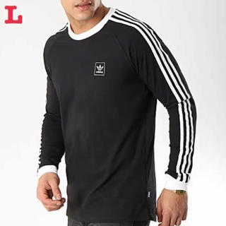 アディダス オリジナルス カリフォルニア 長袖 Tシャツ 黒 L 新品未使用
