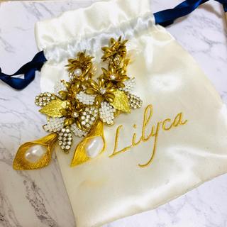 Vera Wang - Lilyca ゴールドイヤリング