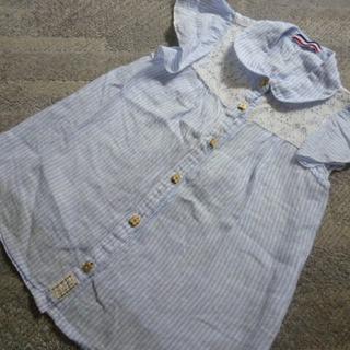 しまむら女児ノースリーブシャツ130
