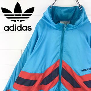 アディダス(adidas)のアディダス ヴィンテージ  ナイロンジャケット 90s クレイジーカラー(ナイロンジャケット)